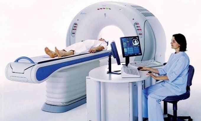 Перед процедурой следует пройти компьютерную томографию