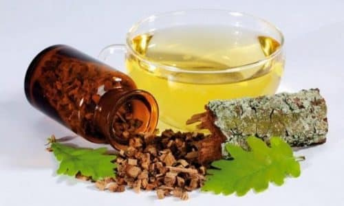 Настойка коры дуба - отличное народное средство, которое эффективно при различных заболеваниях щитовидной железы