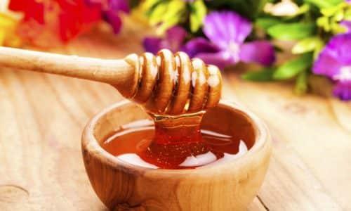 Мед является полезным продуктом при увеличении щитовидной железы