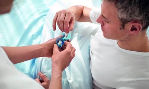 Перед процедурой пациент должен обязательно выпить препарат изотопа йода