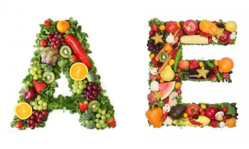 Токоферол хорошо сочетается с витамином A (ретинолом)