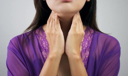 Щитовидная железа вырабатывает гормоны, необходимые для жизнедеятельности организма