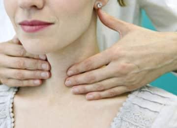 Определение нормальных размеров узлов щитовидной железы