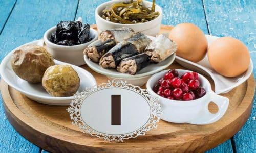 Чтобы предупредить первичный гипотиреоз, необходимо полноценно питаться, употребляя продукты с достаточным содержанием йода