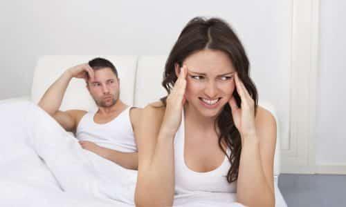 При многоузловом зобе щитовидки нарушаются и половые функции: у мужчин наступает импотенция, а женщины страдают от отсутствия либидо