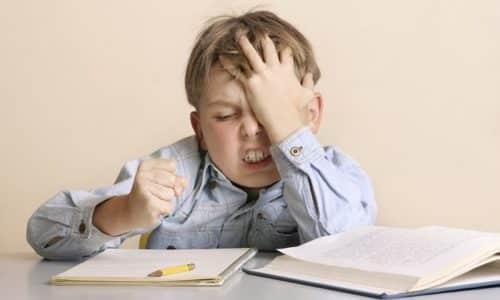 По мере его взросления у ребенка при кретинизме отмечается невозможность к обучению