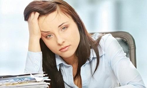Повышение ТТГ способствует тому, что женщина ощущает сильную усталость