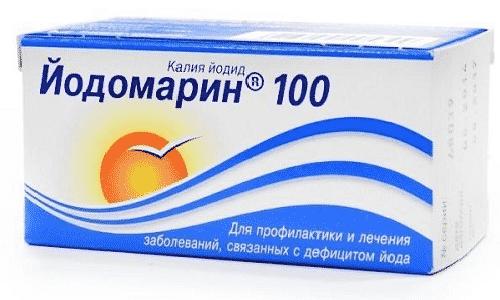 Для того чтобы восполнить дефицит йода в организме, можно принимать Йодомарин или Йод-актив