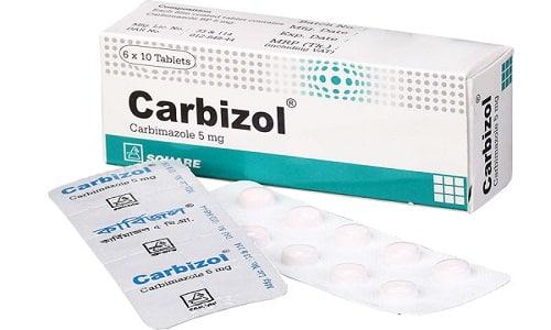 Карбимазол применяется для терапии гиперфункции щитовидной железы
