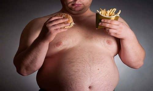 Препарат влияет на распределение жира в теле, увеличивая его количество в верхней части: на груди, животе, руках