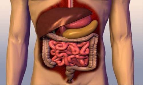 После приема таблетка абсорбируется в желудочно-кишечной системе