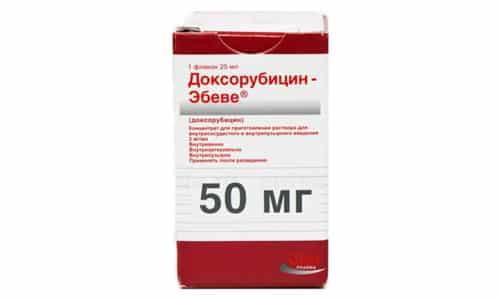 Доксорубицин - цитостатик-антибиотик с противоопухолевым действием