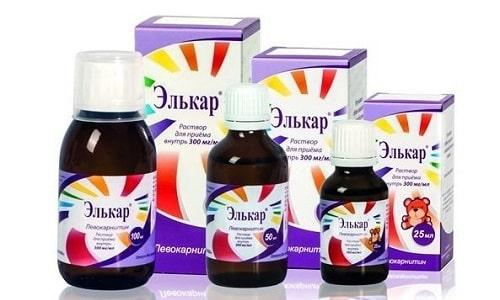 Элькар - лекарственное средство, содержащее необходимую человеческому организму аминокислоту (левокарнитин)