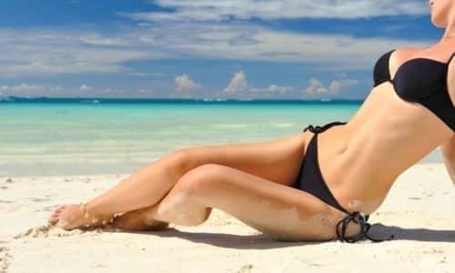 Витамин Е (токоферол) стабилизирует обмен углеводов и жиров, способствуя снижению веса