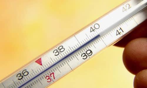 При высокой температуре, которая не сопровождается появлением симптомов воспалительных заболеваний, суппозитории не назначаются