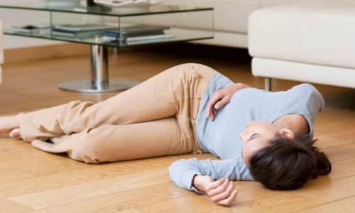 Превышение дозировки препарата способно вызвать потерю сознания и судороги