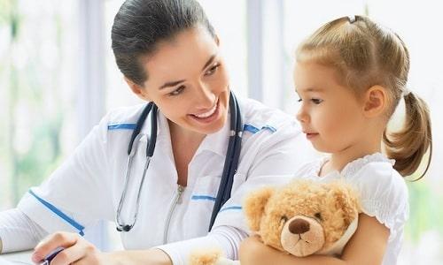 Допускается лечение детей препаратом Метипред под строгим врачебным наблюдением
