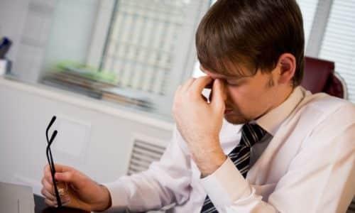 Лекарство сказывается на остроте зрения, это нужно учитывать при длительной зрительной работе