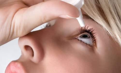 Препарат не следует применять при острых инфекционных заболеваниях глаз или повреждении эпителия глаза