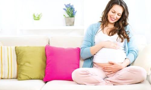 Лекарство может назначаться в период беременности и кормления грудью