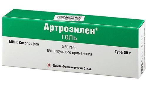 Аналогом с похожей формой выпуска и идентичным механизмом действия может выступать Артрозилен