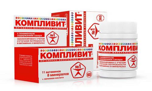 Многие популярные витаминно-минеральные комплексы включают в свой состав витамин E. Среди них - препарат Компливит