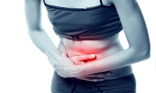 В некоторых случаях во время приема препарата могут появиться боли в животе