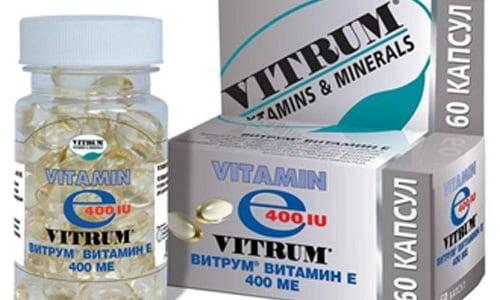 Одним из аналогов препарат является Витрум Витамин Е