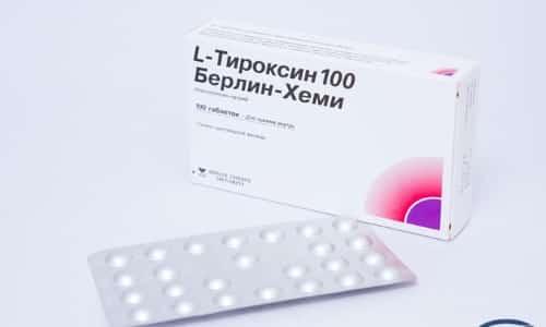 Препарат выпускается в форме таблеток. В 1 таблетке содержится 100 мкг левотироксина