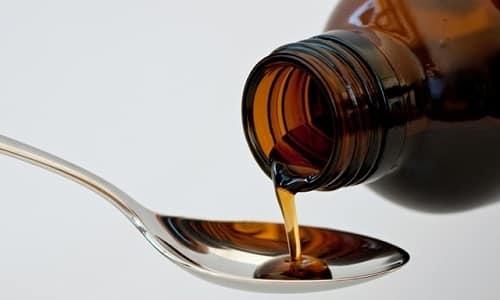 Если пить сироп только после приема пищи, вероятность развития побочных симптомов снижается