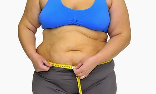 Многие пациенты отмечают набор веса на фоне приема гормонального препарата, однако при этом объем бедер и талии остается прежним