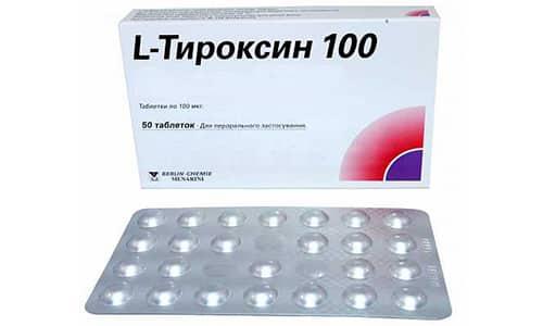 Терапевтическое действие L-тироксин наблюдается спустя 7-12 суток после начала приема таблеток