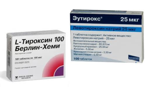 Вопрос о том, что выбрать для лечения заболевания щитовидной железы - Эутирокс или Л-Тироксин - способен озадачить пациента, которому назначена гормонозаместительная терапия