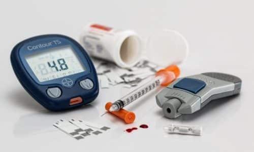 Медикамент увеличивает потребность больного в инсулине и гипогликемических средствах