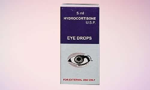 Для местной терапии органов зрения и слуха используется особенная форма препаратов, содержащих гидрокортизон, - капли